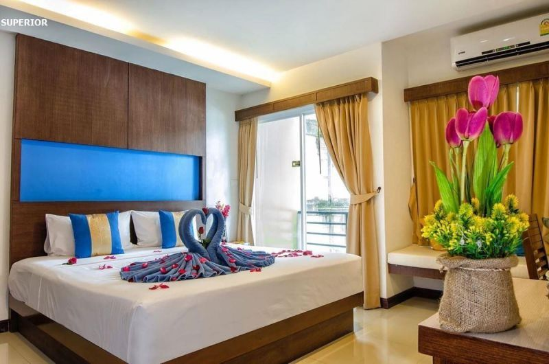 Blue sky patong hotel Пхукет Таиланд