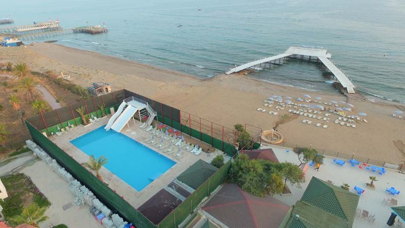 Ganita holiday village (ex.oasis beach) Алания Турция